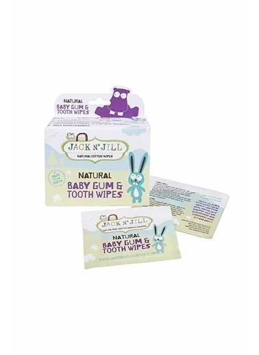 Jack N'Jill Jack N'Jill Natural Baby Gum & Tooth Wipes Beyaz